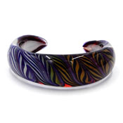 Kevin O'Grady Glass Luxor Bangle Bracelet