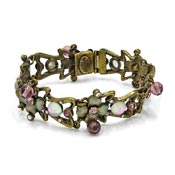 Sweet Romance Iridescent Dogwood Flower Bracelet