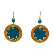 Vintage Laurel Burch Myth Earrings
