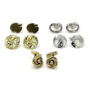Lot Of Five Pairs Of Vintage Cufflinks Including Swank
