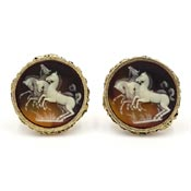Dante Museum Masterpiece Collection Horses Cuff Links