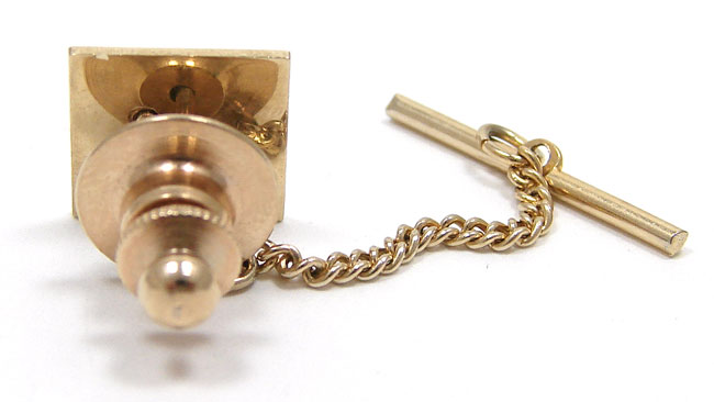 ccbee95ad580 Vintage 14K Menorah Tie Tack Pin