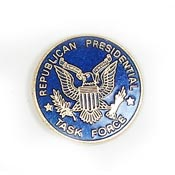 Vintage Republican Presidential Task Force Pin