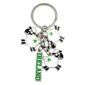 Ireland Silly Sheep Keychain