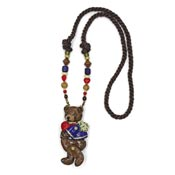 Vintage Teddy Bear With Moveable Arms And Legs Necklace By Dorian Designs