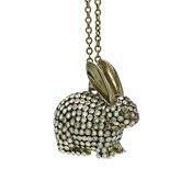 Lucky Brand Bunny Rabbit Necklace