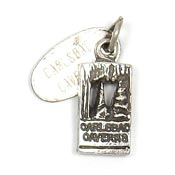 Vintage Sterling Silver Carlsbad Cavern Charm With Tag