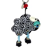 Black Sheep Keychain By Orna Lalo