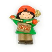 Vintage Hallmark Little Drummer Boy Pin 1980's