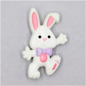 Vintage Hallmark Easter Bunny Rabbit Pin 1985