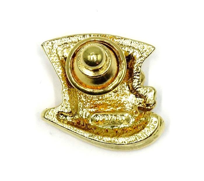 Top Hat Pin: Vintage Avon Irish Top Hat Pin