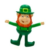 Vintage Bendable Leprechaun Pin