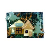Lucinda Copper Skies House Pin