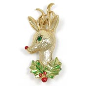 Vintage Rudolph Pin By Gerrys Book Piece