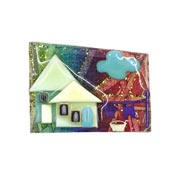 Lucinda Laundry Day House Pin