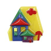 Lucinda Bright Colors House Pin