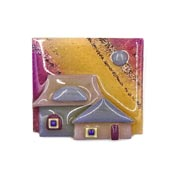 Lucinda House Pin Sparkling Mauve Sunset Sky