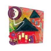 Lucinda Man In The Moon House Pin