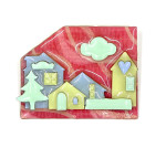Lucinda Pine Tree Houses Pin