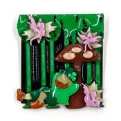 Lucinda Leprechaun Fairy Pin