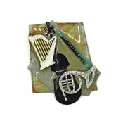 Lucinda Music Pin Musical Instruments
