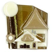Lucinda Tan House Pin