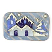 Lucinda Winter Houses Pine Tree Pin