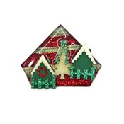 Lucinda Christmas Village Pin