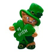 Vintage #1 Irish Cat Pin