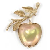 Vintage Sarah Coventry Delicious Apple Pin