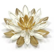 Vintage Sarah Coventry Water Lily Pin