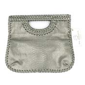 Silver Large Convertible Clutch By Big Buddha NWT