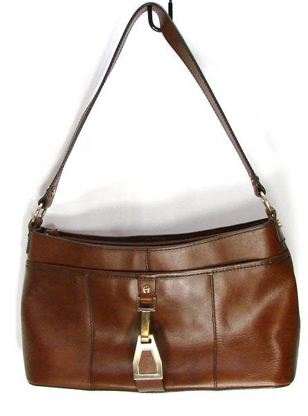 6f9f9a5804 Vintage Etienne Aigner Brown Leather Purse