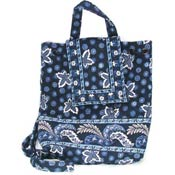 Vera Bradley Blue Coin Mini Backpack
