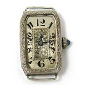 Vintage Art Deco ABRA Watch Co Watch 6 Jewels Runs