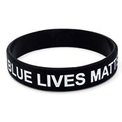 Blue Lives Matter Wristband-Small