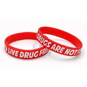 Live Drug Free Wristband-Small