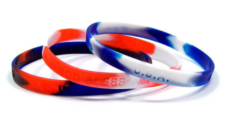Patriotic Wristband Set