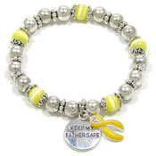 Keep My Father Safe Beaded Bracelet