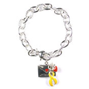 My Daughter Yellow Ribbon Bracelet