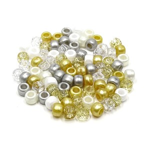 Angelic Mix 9x6 mm Pony Beads 50 Pieces