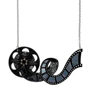 35MM Dream Film Reel Necklace By Erstwilder