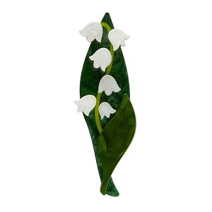Blooming Bells Lily Of The Valley Brooch By Erstwilder