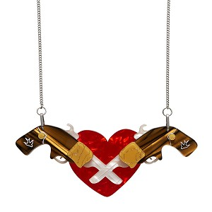 Holstered Love Necklace By Erstwilder