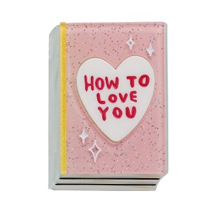How To Love You Book Brooch By Erstwilder