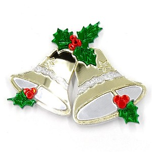 Gold Jingle Bells Brooch By Tantalising Treasures - Last One