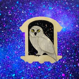 Owl Delivery Brooch By Tantalising Treasures - Coming Soon!