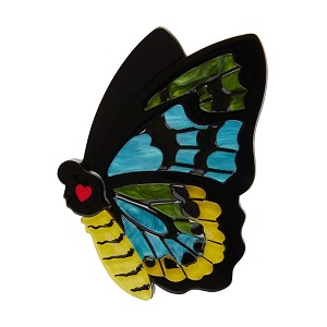 Prettiest Papillion Butterfly Brooch By Erstwilder