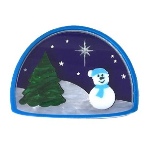 Sams Winter Wonderland Pin By Tantalising Treasures - Last One