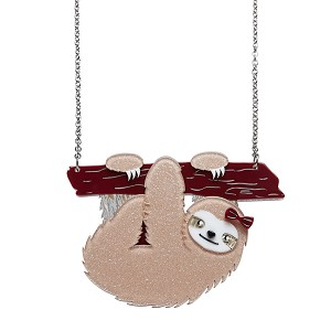 Sybil The Sloth Necklace By Erstwilder